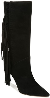 Sam Edelman Fayette Fringe Suede Tall Boot