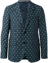 Etro printed two button blazer - men - Silk/Cotton/Wool - 48