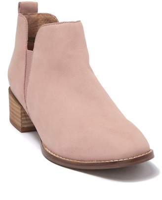 Seychelles Offstage Nubuck Leather Ankle Bootie