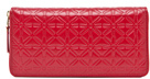 Comme des Garcons Star Embossed Long Wallet in Warm Tones.