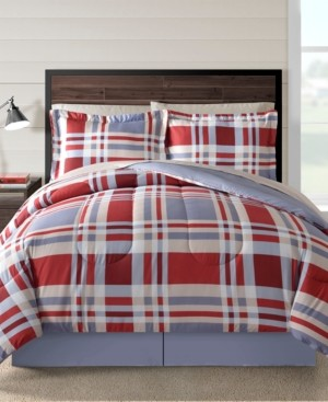 Sunham Fairfield Square Freta Multi 8Pc Twin Comforter Set Bedding