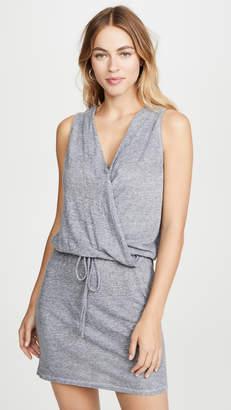 Lanston Surplice Mini Dress