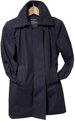 Joseph Blue Cotton Trench Coat for Women