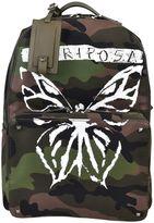 Valentino Garavani Rockstud Camouflage Backpack