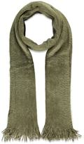Forever 21 Fringed Shaggy Knit Scarf