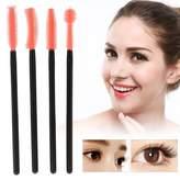 ZJchao 200PCS/Set Disposable Eyeliner Liquid Lipstick Eyelash Extension Brush Applicator Makeup Wands Facial Cosmetic Tool