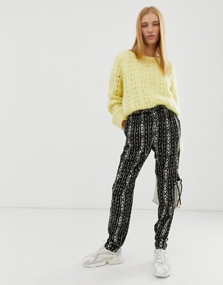 B.young ikat printed pants