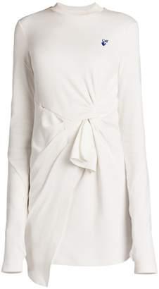 Off-White Off White Mariacarla Wrap Dress