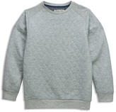 Sovereign Code Boys' Effect Quilted Sweatshirt - Sizes S-XL