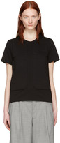 Comme des Garcons Black Padded Patches T-shirt