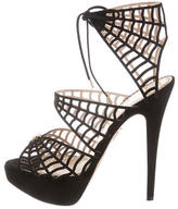 Charlotte Olympia Caught In Charlottes Web Sandals w/ Tags