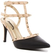 J. Renee Odanda Studded T-Strap Pump - Wide Width Available
