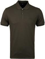 Boss Pallas Khaki Pima Pique Polo Shirt