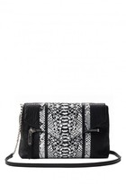 Milly Melrose Snake Crossbody Clutch