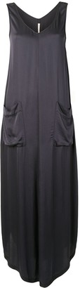 Raquel Allegra V-neck shift dress