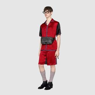 Gucci Acetate shorts with GG star