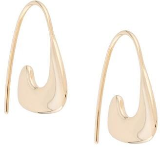 BAR JEWELLERY Curb dangle earrings