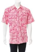Gucci Paisley Print Button-Up Shirt