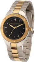 JCPenney FINE JEWELRY Personalized Dial Mens Two-Tone Stainless Steel Watch