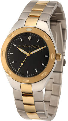 Fine Jewelry Personalized Dial Mens Two-Tone Stainless Steel Watch