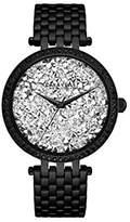 Bulova Women's Quartz Stainless Steel Casual Watch, Color:Black (Model: 45L160)