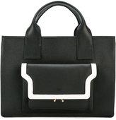 Marni contrast trim tote - women - Calf Leather - One Size