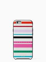Kate Spade Jeweled fiesta stripe iphone 6 case