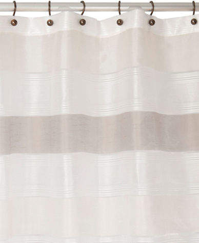 Famous Home Fashions Neo Cream Shower Curtain