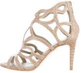 Christian Dior Paaradis Snakeskin Sandals