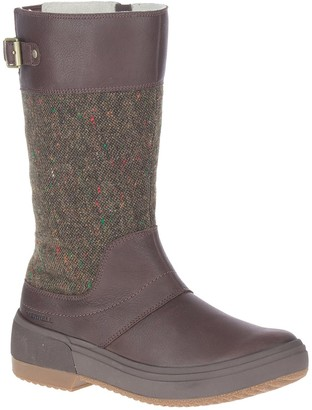 Merrell Haven Tall Buckle Strap Boot