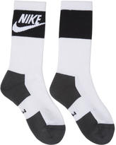 Nike Two-Pack Multicolor Logo Crew Socks