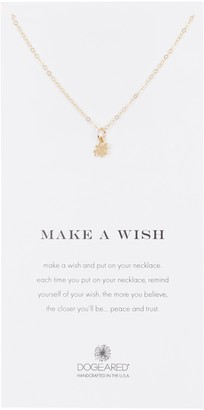 Dogeared Make A Wish Hash Tag Pendant Necklace