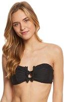 Betsey Johnson Malibu Solid Bandeau Bikini Top 8157047