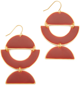 Madewell Cutout Enamel Earrings