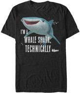 Fifth Sun Men's Tee Shirts BLACK - Finding Dory Black 'Whale Shark' Tee - Men