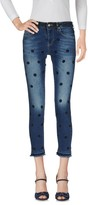 Silvian Heach Denim pants - Item 42607854