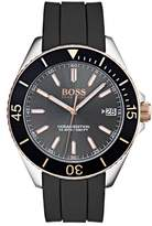 BOSS Ocean Rubber Strap Watch, 40mm
