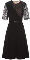 Jason Wu Lace-trimmed Crêpe Dress