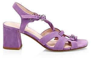 Kate Spade Women's Ella Suede Lace-Up Sandals