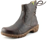 El Naturalista N148 Women Round Toe Leather Brown Ankle Boot.