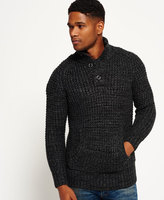 Superdry Bergen Waffle Henley Sweater