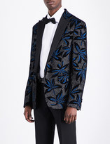 DSQUARED2 Regular-fit embellished velvet jacket