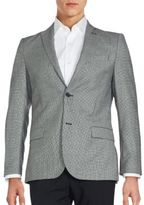 J. Lindeberg Patterned Virgin Wool Sport Coat