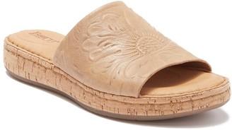 Børn Fish Lake Tooled Leather Slide Sandal