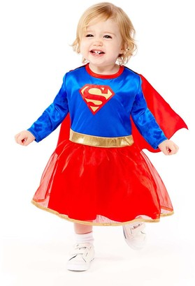Superman Supergirl Toddler Costume