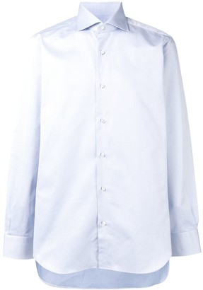 Barba Spread Collar Shirt