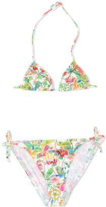 Bonpoint x Eres floral-print bikini set
