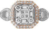 FINE JEWELRY 3/4 CT. T.W. Diamond 14K Two-Tone Gold Ring