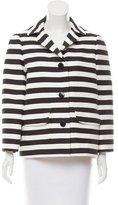 Kate Spade Oversize Striped Blazer