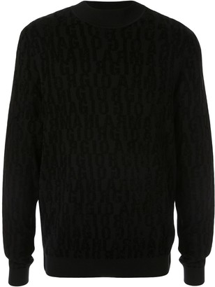 Giorgio Armani long sleeved sweater